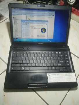 Laptop toshiba satelite C640, dijual 1.500.000