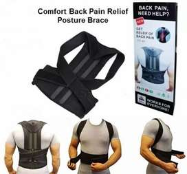 Back pain relief posture brace