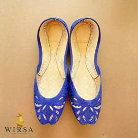 Hand made leather original khussa for ladies