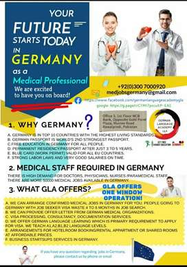 Medical Staff Required in Germany