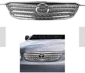 Toyota Corolla 2002-2008 Front Mesh Chrome Grill