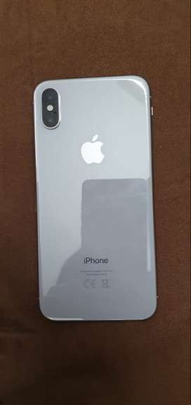 iPhone X 64 GB white PTA approved