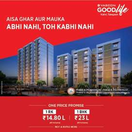 1 bh Flats for Sale in Talegaon, Katvi at ₹ 23.8 Lacs, Vascon Goodlife