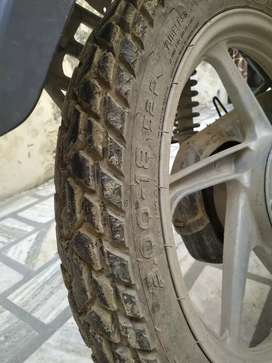 Good condition,brand new tubeless tyres,selfstart
