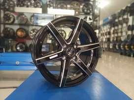 Velg mobil HSR ring 15 pcd 4x100 bisa credit/TT