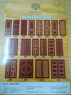 Pabrik Pintu Kayu dan Kusen Kayu di Batam, Kepri (Oven)