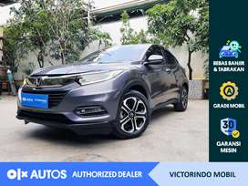 [OLX Autos] Honda HRV 2018 1.5 E CVT A/T Bensin Abu-abu #Victorindo