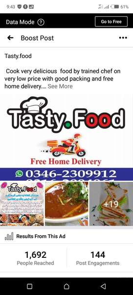 Invest on our food business and earn lot of money with us on