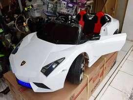 Mobil Lamborghini Anak Pakai Aki / Mobil Mainan Lambrado PMB Original