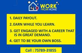 EASY PART TIME WORK FROM HOME AND EARN MONEY