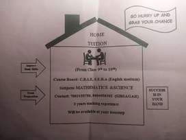 HOME TUITION CLASS 8 TO 10(SIVSAGAR)