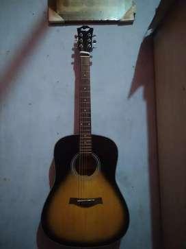 Gitar cowboy original mulus free tas