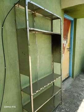 Steel rack.