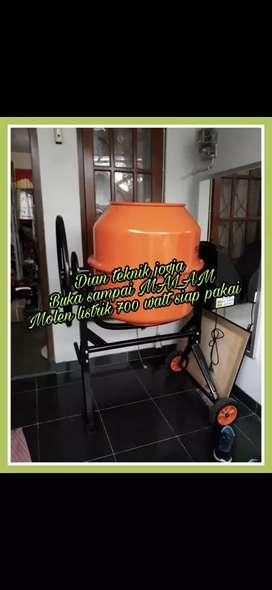 Mesin molen listrik 200 ltr siap pkai //Dian teknik jogja bk smp Mlm