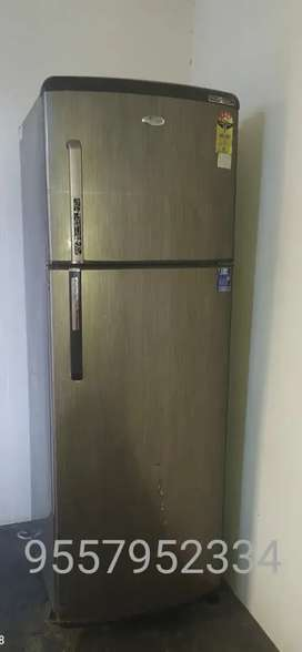 Whirlpool Refrigerator 265 liters in good condition for sale.