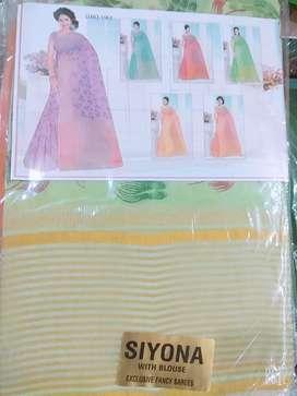 New pure cotton saree
