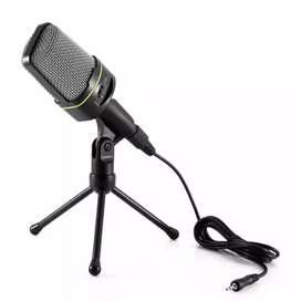 Condenser Mic SF-920 / SF920 buat Recording Smule Skype Vlog  Hitam