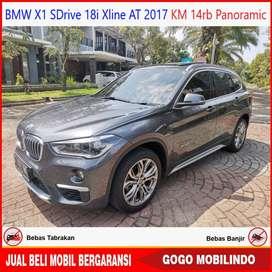 BMW X1 SDrive 18i Xline At 2017 KM 14rb Panoramic Bisa Kredit