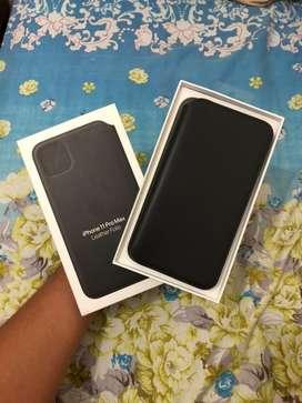 Leather Case / Flip Case / Flip Leather Case Ori Iphone 11 Pro Max