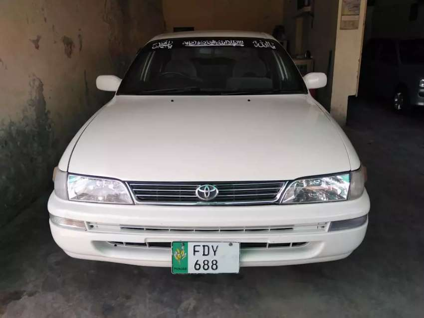 I want to sale my car Indus corolla