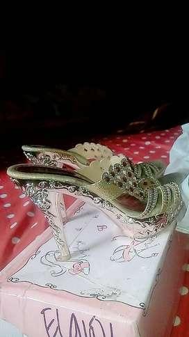 Sepatu cantik Bling bling