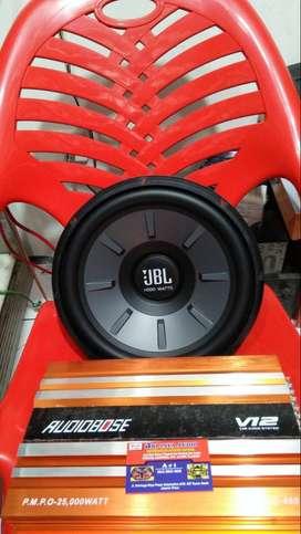 Power + Subwoofer buat naikin suara audio super Bass