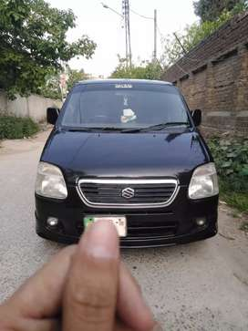 Wagon R registered 2008 automatic.
