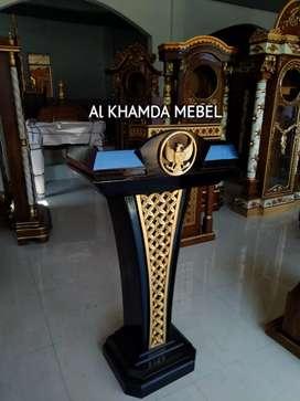 Ready Mimbar Musholla Kerajinan Jepara #518