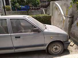 Maruti car powerful engine with top speed run in running condition