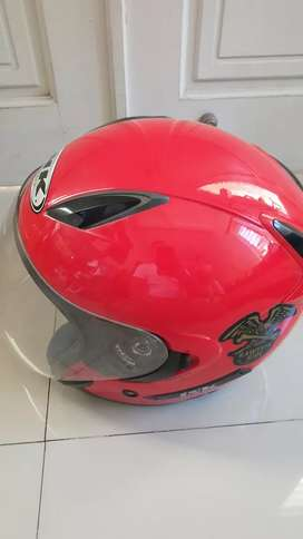 Helm Ink ori double visor size M