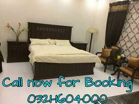Full furnished one kanal indepented Guest house for short/long stay