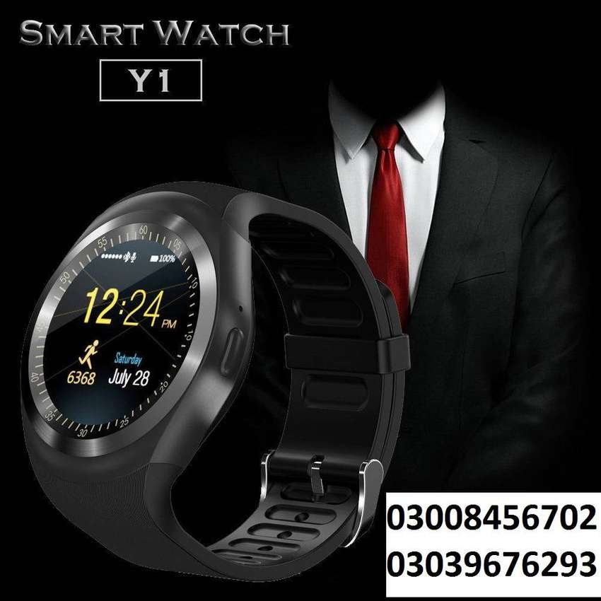 Y1 Smart watch High quality and more watches & Heart rate bands avail 0