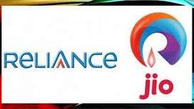 Full time job in Reliance jio company on roll vacancy
