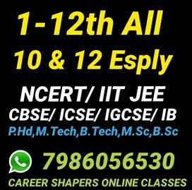 Online classes 1-12th Avail All India Mobile App for Android & Laptop