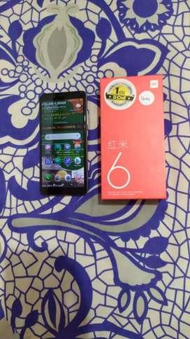 Xiaomi redmi 6 full set.. mulus...