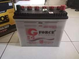 Dijual AKI BASAH GFORCE NS 60 L