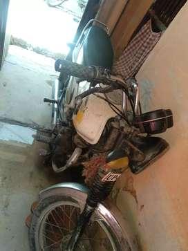 I am selling my old bike.