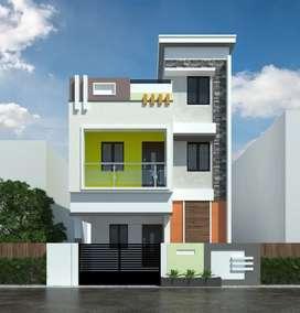 Residential villa plot for sale in thalambur junction