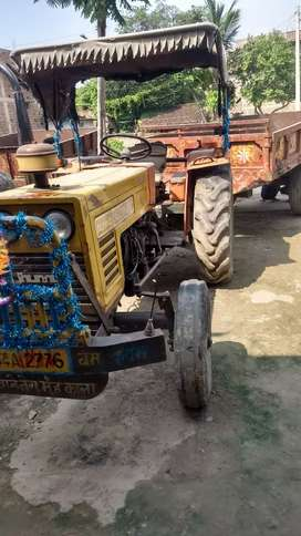 Tractor & tailar sell only 290000