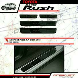 Sill Plate/ Scuffplate Samping All New Rush, Terios 2018 Tanpa LED