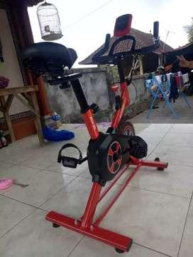 spinning bike V-BELT s07 sepeda statis/super nyaman