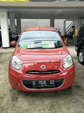 DP 16jt 2012 Nissan March AT 1.2 L Merah