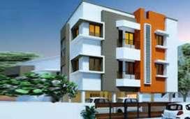 600 sqft 1 Bhk New Flat sale Ready to move madipakkam Ram nagar North