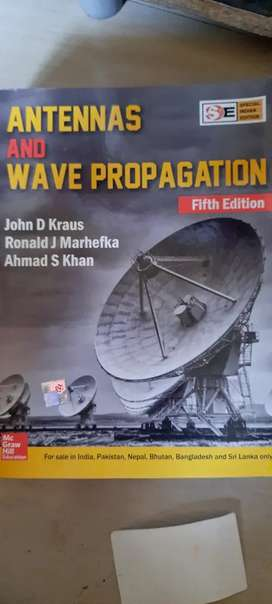 Antennas and wave propagation(5th edition)