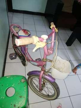 "Sepeda anak merek united uk ""16"""