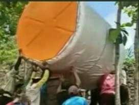 Gudang tandon air Temanggung tandon 5000 liter bahan plastik pvc