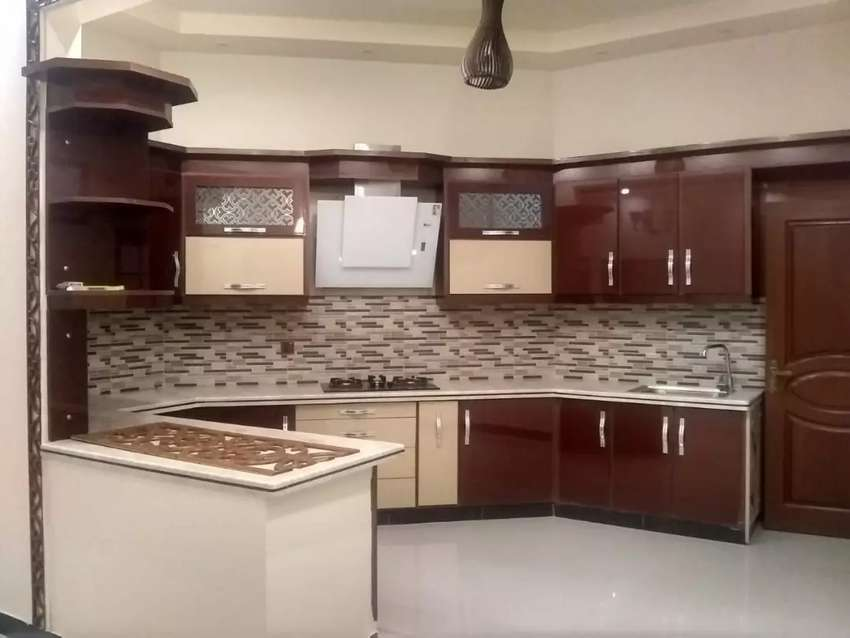 Brand new 2 bed DD for rent in VIP of gulshan e iqbal 0
