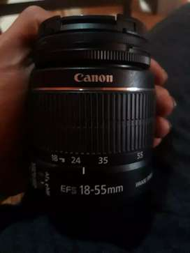 Lensa canon 18-55mm IS II+ marumi dhg lens protect 58mm