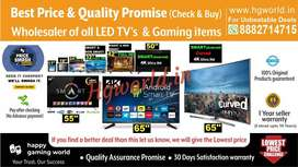 All Size Led Tvs Smart\NonSmart\4K Uhd |Gaming Item(Best Deal Promise)