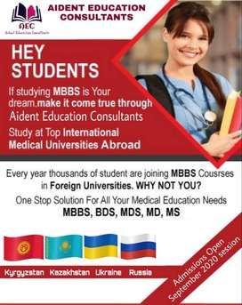 MBBS MD BDS in Kyrgyzstan